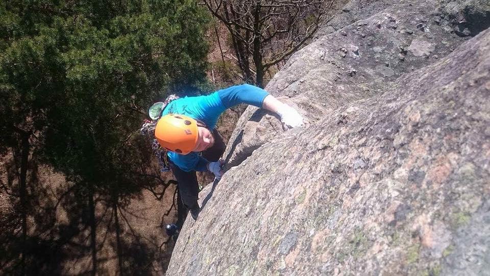 Jag klättrar Spagaten i Utby