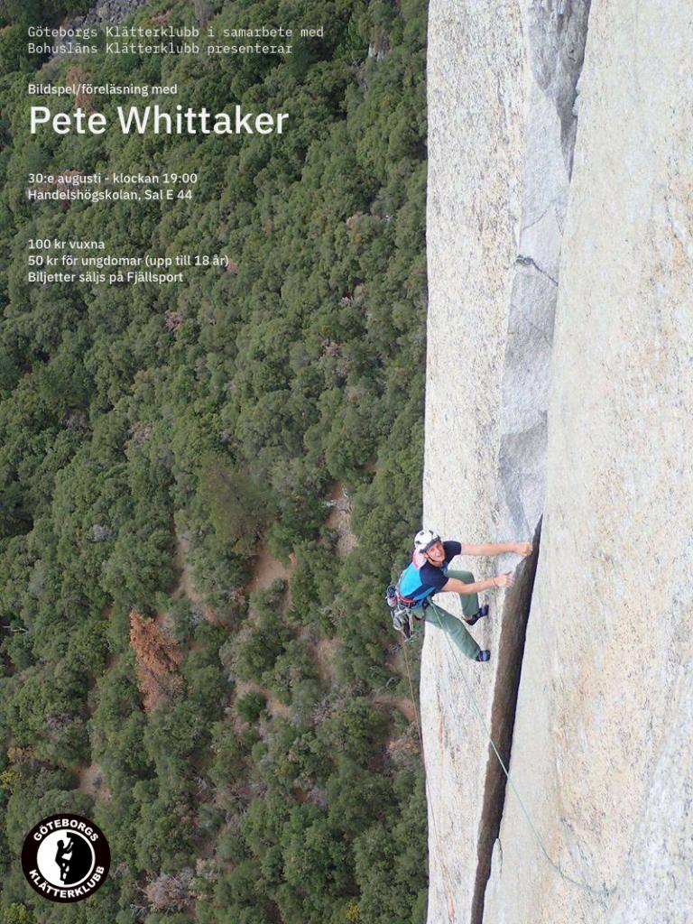 Föreläsning med Pete Whittaker