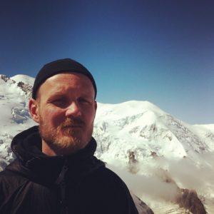 Bobby Ong @ Aiguille du Midi